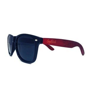 Engleberts Polarized Handmade Rosewood Sunglasses